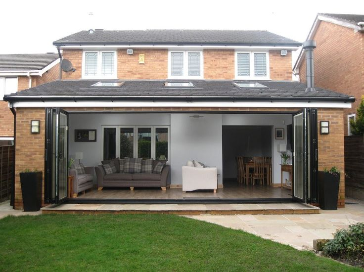 Single Storey Rear Side Extension Drawing Services